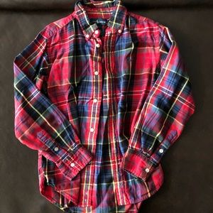 Boys Ralph Lauren Plaid - sz 7
